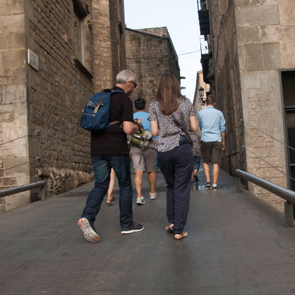"Free walking tour ""Gothic Quarter"""