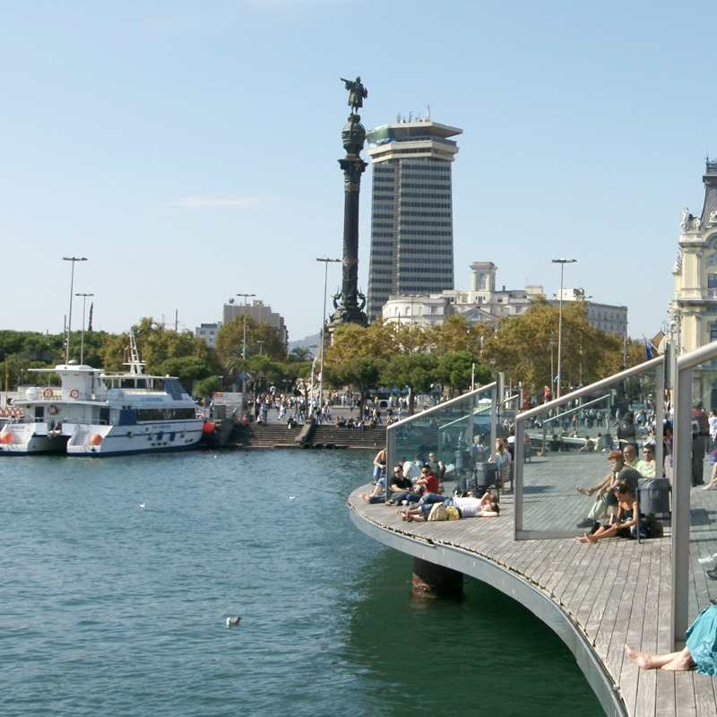 From the Port of Barcelona