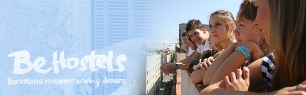 Be Hostels Groups hostels in Barcelona and Zaragoza